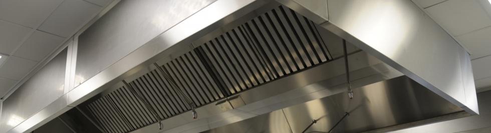 Kitchen Ventilation Canopies - Exoair